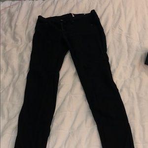 Rag and bone mid waisted black jeans